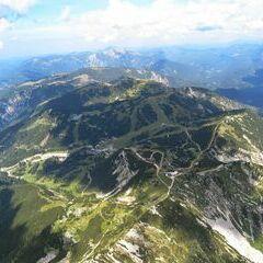 Flugwegposition um 13:45:36: Aufgenommen in der Nähe von Gemeinde Wildalpen, 8924, Österreich in 2307 Meter