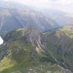 Flugwegposition um 11:11:00: Aufgenommen in der Nähe von Imst, Gemeinde Imst, Österreich in 2747 Meter