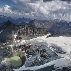 Flugwegposition um 13:17:32: Aufgenommen in der Nähe von Gemeinde Sölden, Österreich in 3272 Meter