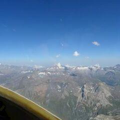 Flugwegposition um 14:09:45: Aufgenommen in der Nähe von Arrondissement d'Albertville, Frankreich in 3721 Meter