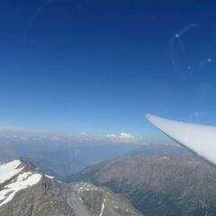 Flugwegposition um 14:20:23: Aufgenommen in der Nähe von Arrondissement d'Albertville, Frankreich in 3554 Meter