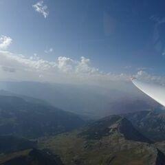 Flugwegposition um 15:58:15: Aufgenommen in der Nähe von Arrondissement de Briançon, Frankreich in 3204 Meter