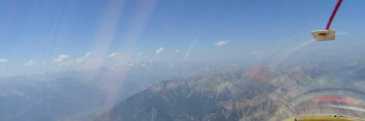Flugwegposition um 13:05:12: Aufgenommen in der Nähe von Arrondissement de Briançon, Frankreich in 3123 Meter