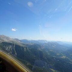 Flugwegposition um 13:51:43: Aufgenommen in der Nähe von Arrondissement de Digne-les-Bains, Frankreich in 2478 Meter