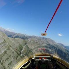 Flugwegposition um 13:51:40: Aufgenommen in der Nähe von Arrondissement de Digne-les-Bains, Frankreich in 2470 Meter