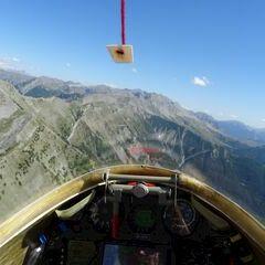 Flugwegposition um 13:51:35: Aufgenommen in der Nähe von Arrondissement de Digne-les-Bains, Frankreich in 2478 Meter