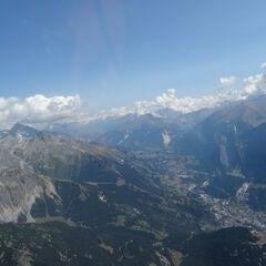 Verortung via Georeferenzierung der Kamera: Aufgenommen in der Nähe von Arrondissement de Saint-Jean-de-Maurienne, Frankreich in 3300 Meter