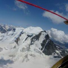 Flugwegposition um 13:12:47: Aufgenommen in der Nähe von Bezirk Entremont, Schweiz in 3851 Meter