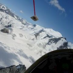 Flugwegposition um 13:10:42: Aufgenommen in der Nähe von Bezirk Entremont, Schweiz in 3600 Meter