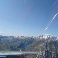 Flugwegposition um 12:48:11: Aufgenommen in der Nähe von 11017 Morgex, Aostatal, Italien in 3088 Meter
