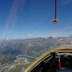 Flugwegposition um 12:29:49: Aufgenommen in der Nähe von Arrondissement d'Albertville, Frankreich in 3472 Meter