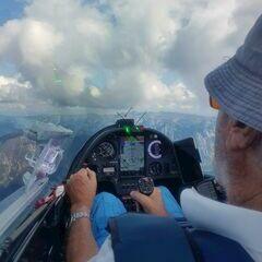 Flugwegposition um 13:24:46: Aufgenommen in der Nähe von Gemeinde Wildalpen, 8924, Österreich in 2302 Meter