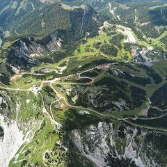 Flugwegposition um 13:23:30: Aufgenommen in der Nähe von Gemeinde Wildalpen, 8924, Österreich in 2365 Meter