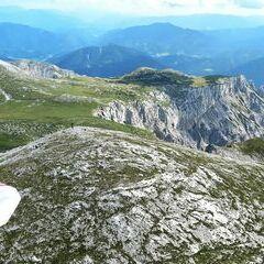 Flugwegposition um 13:42:49: Aufgenommen in der Nähe von St. Ilgen, 8621 St. Ilgen, Österreich in 2148 Meter