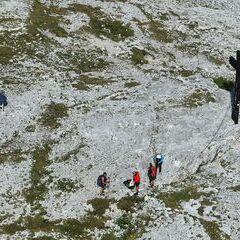 Flugwegposition um 13:43:00: Aufgenommen in der Nähe von Gußwerk, Österreich in 2129 Meter