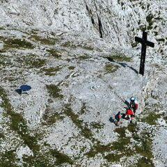 Flugwegposition um 13:42:57: Aufgenommen in der Nähe von Gußwerk, Österreich in 2140 Meter