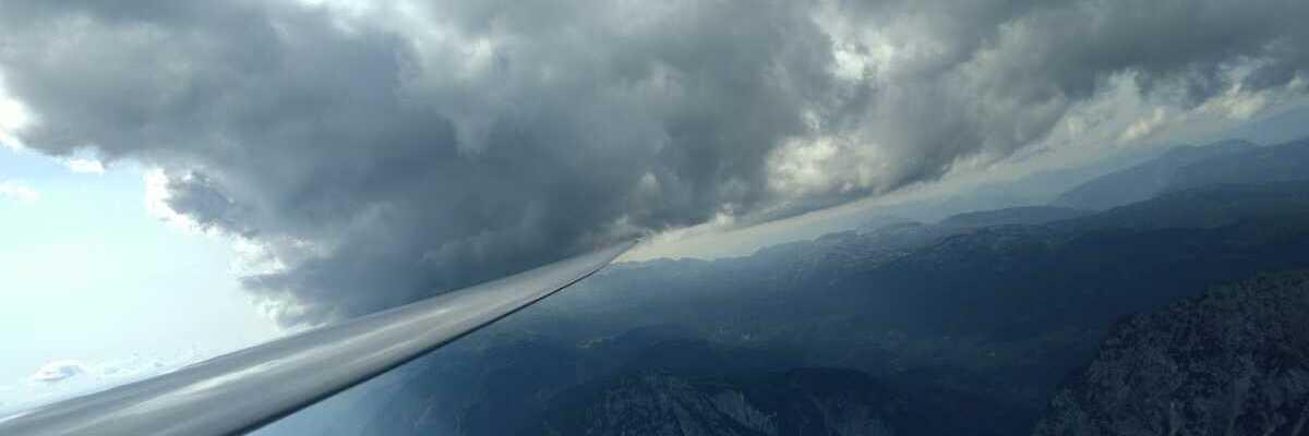 Flugwegposition um 14:20:05: Aufgenommen in der Nähe von Gemeinde Gröbming, 8962, Österreich in 2805 Meter