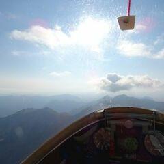 Flugwegposition um 16:27:51: Aufgenommen in der Nähe von Arrondissement de Gap, Frankreich in 3114 Meter