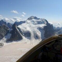 Verortung via Georeferenzierung der Kamera: Aufgenommen in der Nähe von Arrondissement de Briançon, Frankreich in 3900 Meter