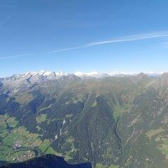 Flugwegposition um 14:16:03: Aufgenommen in der Nähe von 39030 Vintl, Südtirol, Italien in 2422 Meter
