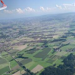 Verortung via Georeferenzierung der Kamera: Aufgenommen in der Nähe von Gemeinde Zell an der Pram, Zell an der Pram, Österreich in 1100 Meter