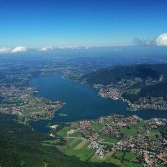 Verortung via Georeferenzierung der Kamera: Aufgenommen in der Nähe von Miesbach, Deutschland in 1863 Meter