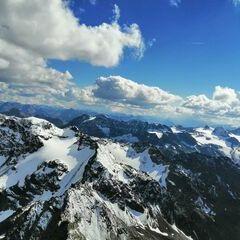 Verortung via Georeferenzierung der Kamera: Aufgenommen in der Nähe von Bezirk Inn, Schweiz in 3228 Meter