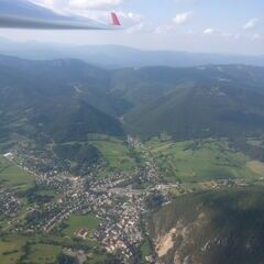 Verortung via Georeferenzierung der Kamera: Aufgenommen in der Nähe von Gemeinde Turnau, Österreich in 2500 Meter
