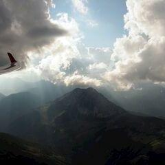 Flugwegposition um 15:13:27: Aufgenommen in der Nähe von Gemeinde Ardning, Österreich in 2186 Meter