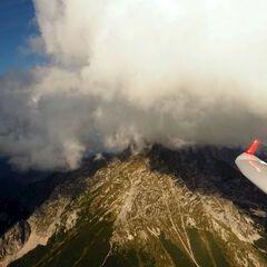 Flugwegposition um 15:15:01: Aufgenommen in der Nähe von Gemeinde Spital am Pyhrn, 4582, Österreich in 2150 Meter