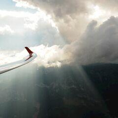 Flugwegposition um 15:15:51: Aufgenommen in der Nähe von Gemeinde Spital am Pyhrn, 4582, Österreich in 2074 Meter