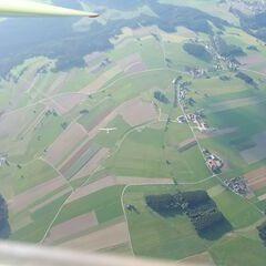 Flugwegposition um 15:21:32: Aufgenommen in der Nähe von Gemeinde Rainbach im Mühlkreis, Rainbach im Mühlkreis, Österreich in 1815 Meter
