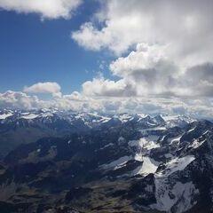 Verortung via Georeferenzierung der Kamera: Aufgenommen in der Nähe von Gemeinde St. Leonhard im Pitztal, 6481, Österreich in 3700 Meter