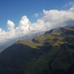 Flugwegposition um 14:50:26: Aufgenommen in der Nähe von Gemeinde Alpbach, 6236 Alpbach, Österreich in 2116 Meter