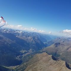 Verortung via Georeferenzierung der Kamera: Aufgenommen in der Nähe von Gemeinde Sölden, Österreich in 4000 Meter