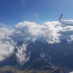 Verortung via Georeferenzierung der Kamera: Aufgenommen in der Nähe von Gemeinde Sölden, Österreich in 4500 Meter