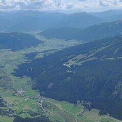Verortung via Georeferenzierung der Kamera: Aufgenommen in der Nähe von Gemeinde Mariapfarr, Österreich in 2800 Meter