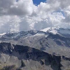 Verortung via Georeferenzierung der Kamera: Aufgenommen in der Nähe von Gemeinde Hüttschlag, 5612, Österreich in 2700 Meter