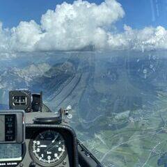 Flugwegposition um 13:50:26: Aufgenommen in der Nähe von Rottenmann, Österreich in 2469 Meter