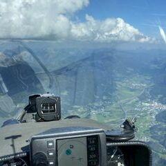 Flugwegposition um 13:50:34: Aufgenommen in der Nähe von Rottenmann, Österreich in 2469 Meter