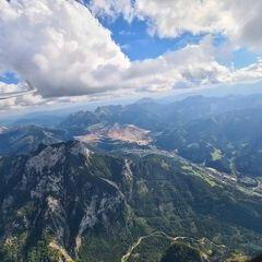 Flugwegposition um 13:38:11: Aufgenommen in der Nähe von Eisenerz, Österreich in 2537 Meter