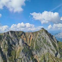 Flugwegposition um 11:31:41: Aufgenommen in der Nähe von Hafning bei Trofaiach, Österreich in 2097 Meter