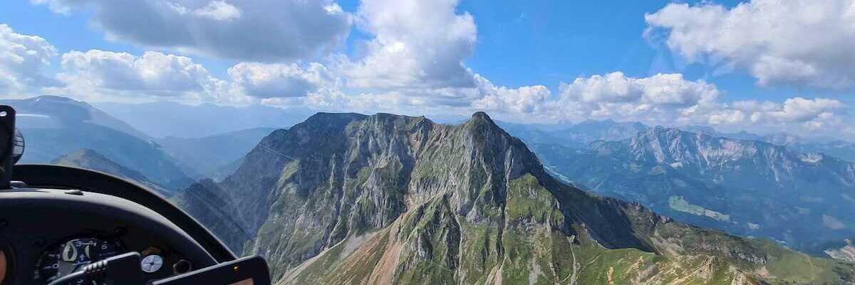 Flugwegposition um 11:31:20: Aufgenommen in der Nähe von Gemeinde Vordernberg, 8794, Österreich in 2059 Meter