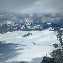Verortung via Georeferenzierung der Kamera: Aufgenommen in der Nähe von 39027 Graun im Vinschgau, Südtirol, Italien in 3766 Meter