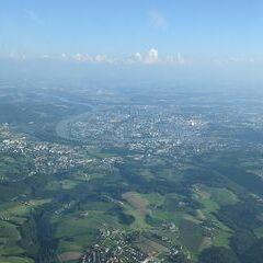Flugwegposition um 15:31:53: Aufgenommen in der Nähe von Gemeinde Lichtenberg, Österreich in 1784 Meter