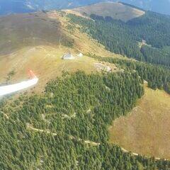 Flugwegposition um 10:21:41: Aufgenommen in der Nähe von Gemeinde Seckau, Österreich in 1867 Meter