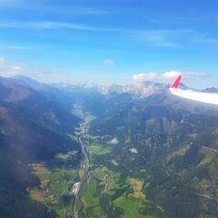 Flugwegposition um 11:39:52: Aufgenommen in der Nähe von Gemeinde St. Michael im Lungau, 5582, Österreich in 2237 Meter