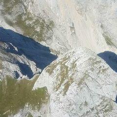 Flugwegposition um 13:27:43: Aufgenommen in der Nähe von St. Ilgen, 8621 St. Ilgen, Österreich in 2094 Meter
