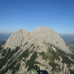 Flugwegposition um 15:55:35: Aufgenommen in der Nähe von Weng im Gesäuse, 8913, Österreich in 1913 Meter