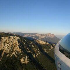Flugwegposition um 16:42:36: Aufgenommen in der Nähe von Gemeinde Neuberg an der Mürz, 8692, Österreich in 1720 Meter